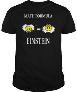 Math Formula Einstein Shirt
