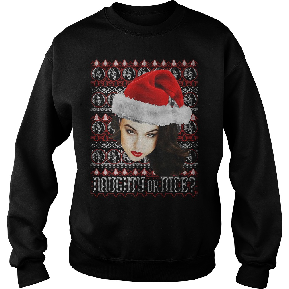 Sasha Grey Naughty Or Nice Sweater
