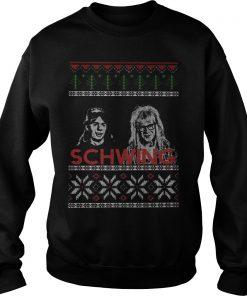 Schwing Wayne's World Sweater