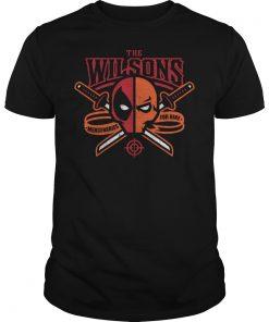 The Wilsons Deathstroke Mercenaries For Hire Shirt