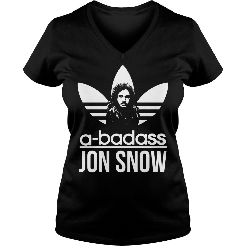 Abadass Jon Snow Vneck