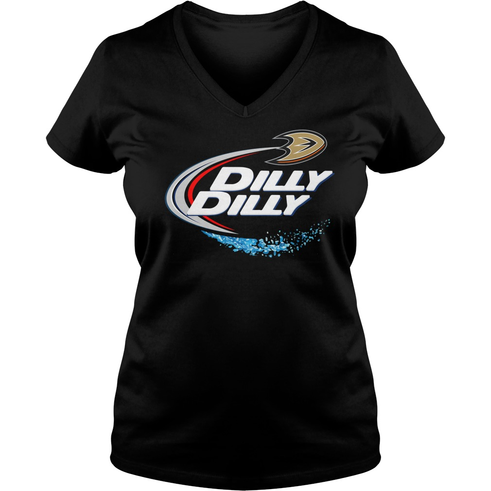 Anaheim Ducks Dilly Dilly Ladies V Neck