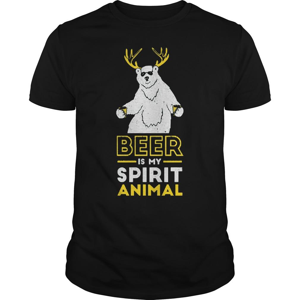 Beer Is My Spirit Animal Shirt