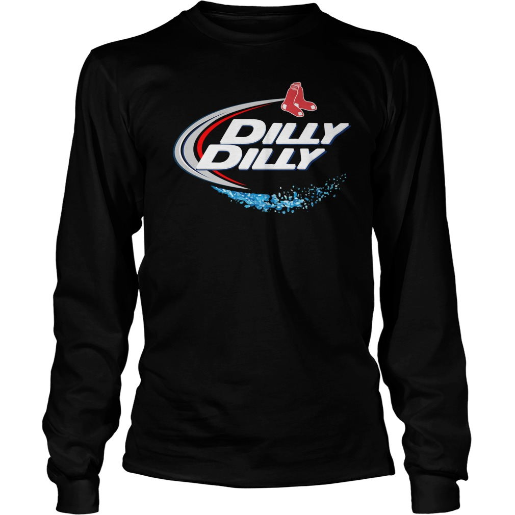 Boston Red Sox Dilly Dilly Longsleeve Tee