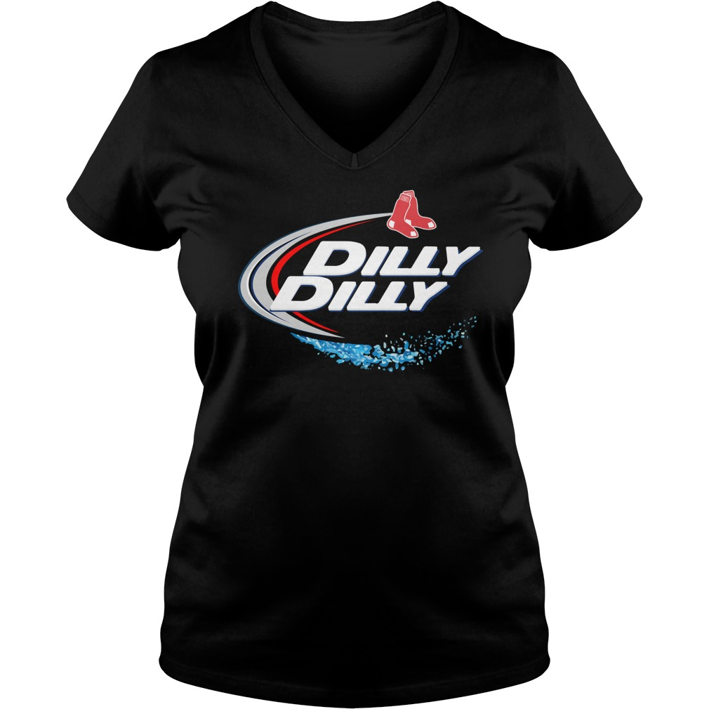 Boston Red Sox Dilly Dilly V Neck