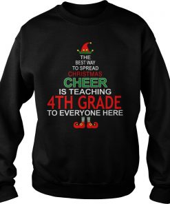 Christmas Cheer Teaching 4th Grade Sweater