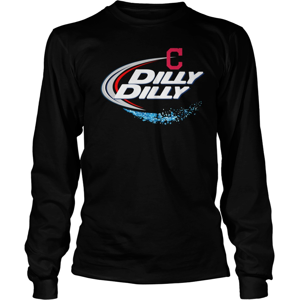 Cleveland Indians Dilly Dilly Longsleeve Tee