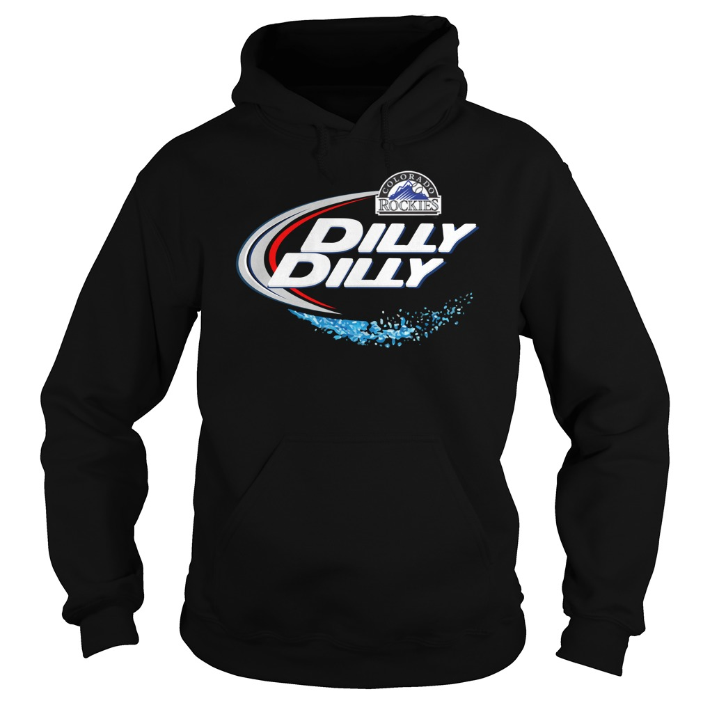 Colorado Rockies Dilly Dilly Hoodie