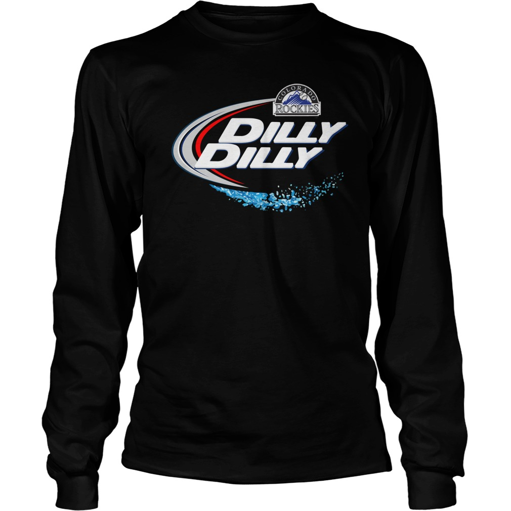 Colorado Rockies Dilly Dilly Longsleeve Tee