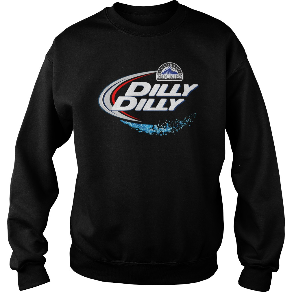 Colorado Rockies Dilly Dilly Sweater