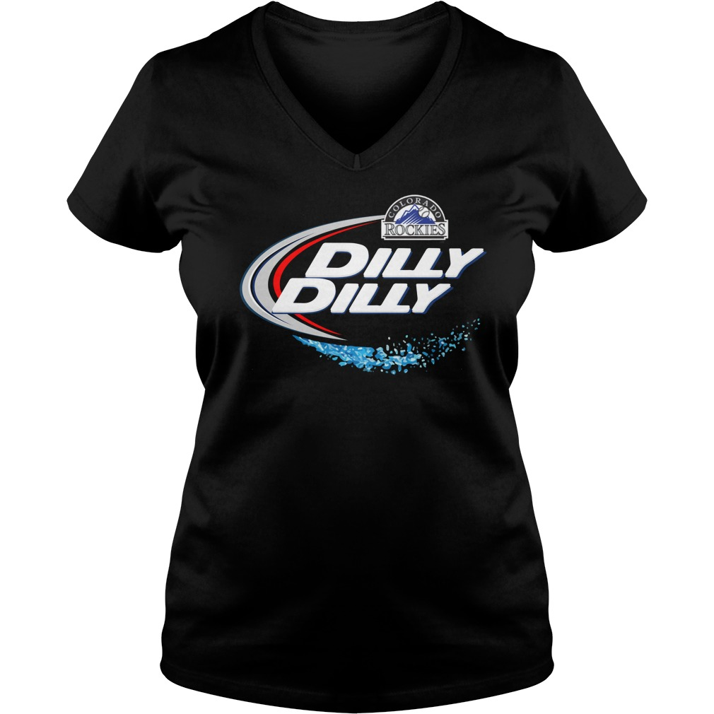 Colorado Rockies Dilly Dilly V Neck