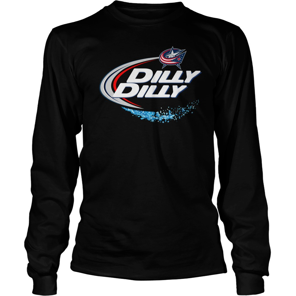 Columbus Blue Jackets Dilly Dilly Longsleeve Tee
