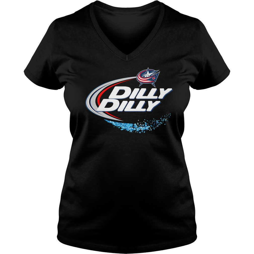 Columbus Blue Jackets Dilly Dilly V Neck