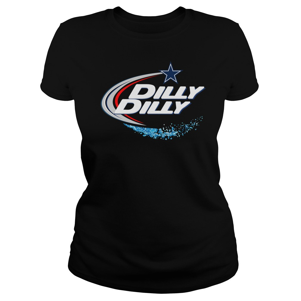 Dallas Cowboys Dilly Dilly Ladies Tee