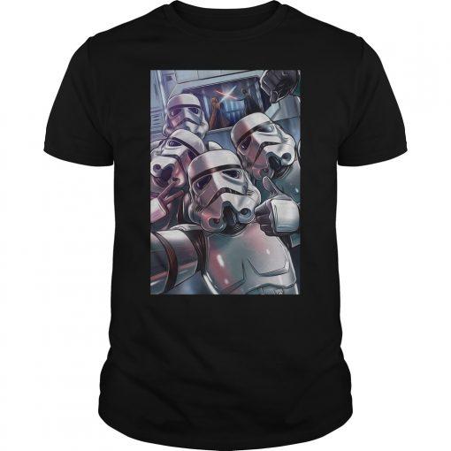Darth Vader Stormtrooper Selfie Shirt