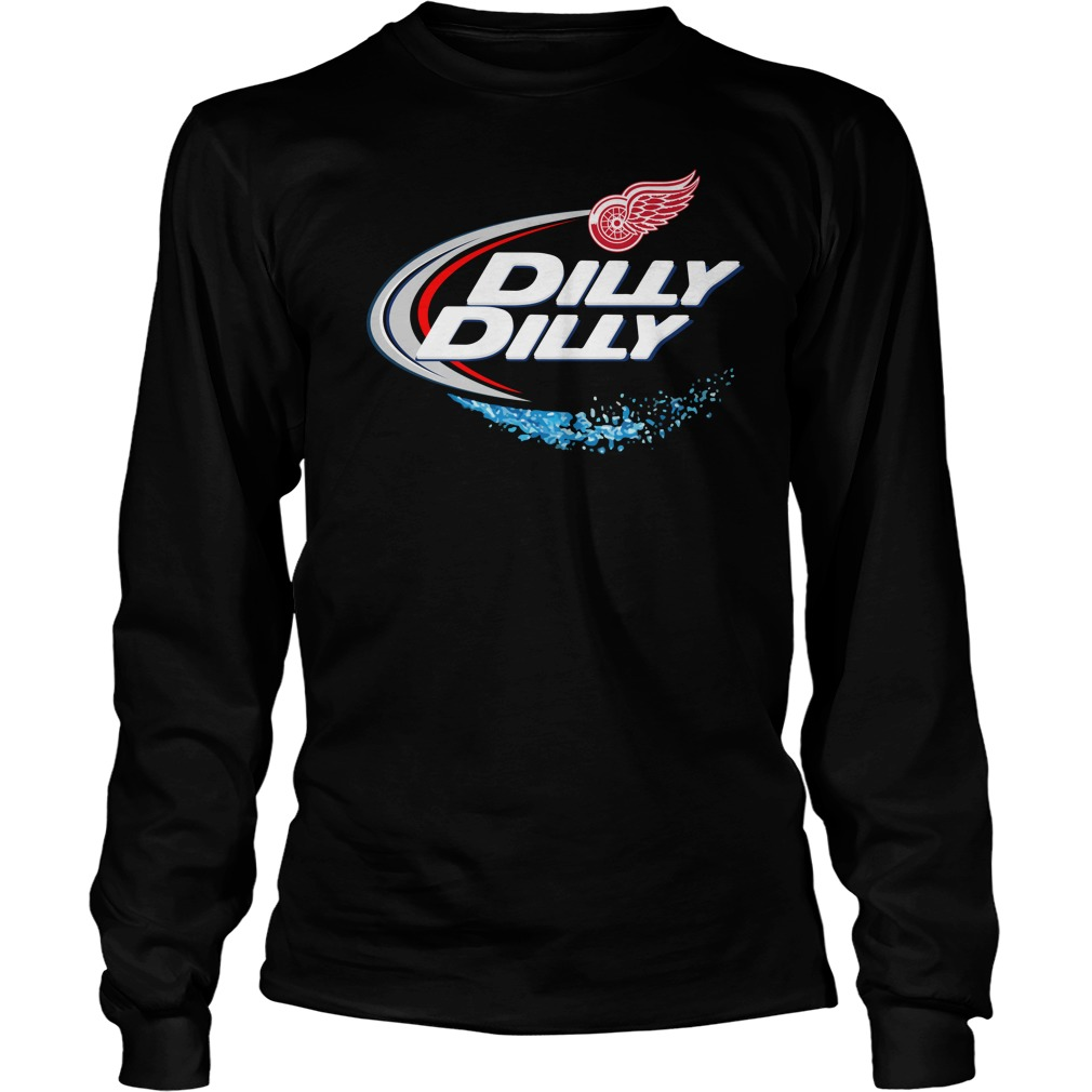 Detroit Red Wings Dilly Dilly Longsleeve Tee