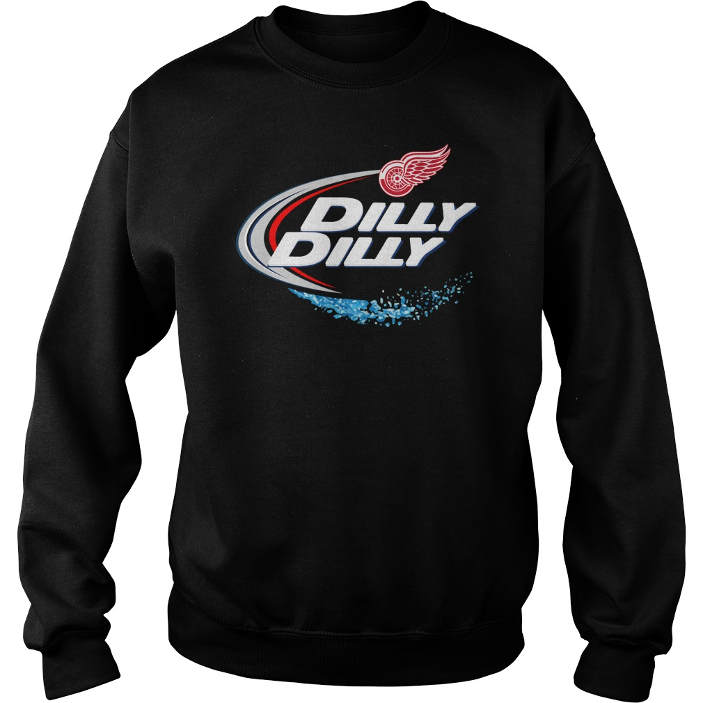 Detroit Red Wings Dilly Dilly Sweater