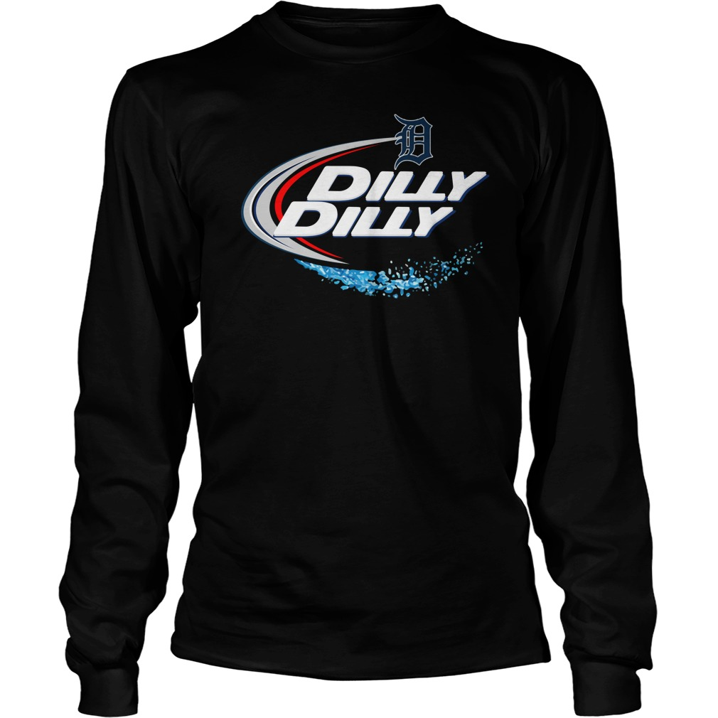 Detroit Tigers Dilly Dilly Longsleeve Tee