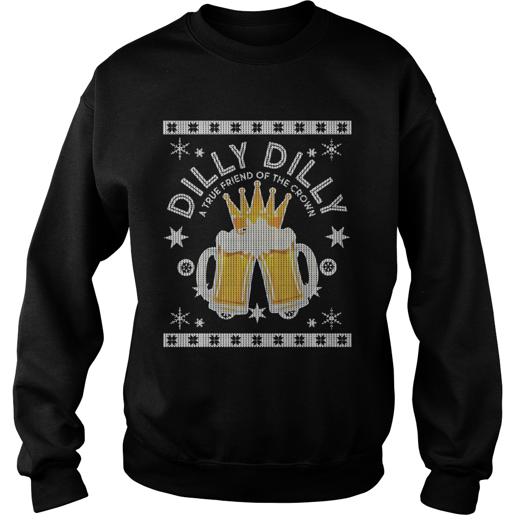 Dilly Dilly True Crown Beer Sweater