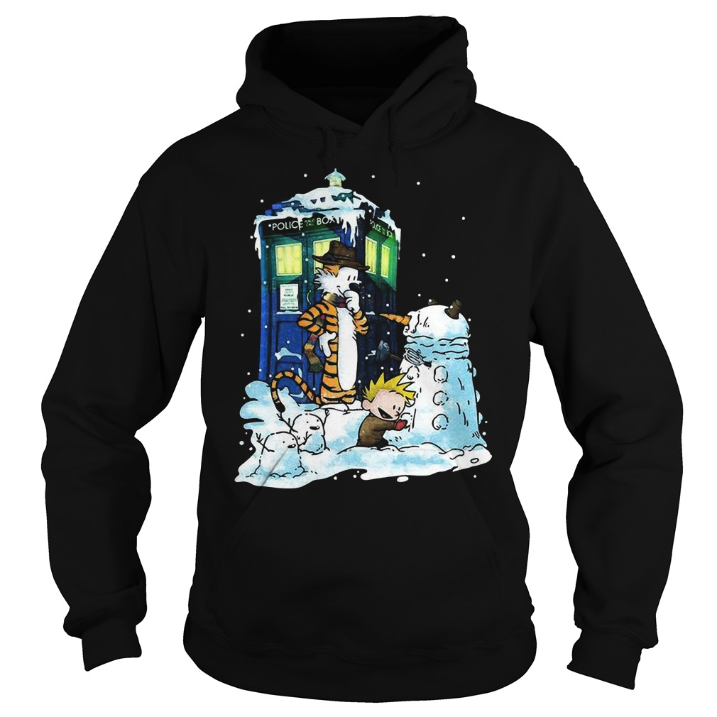 Doctor Calvin Hobbes Mashup Doctor Sweat Hoodie