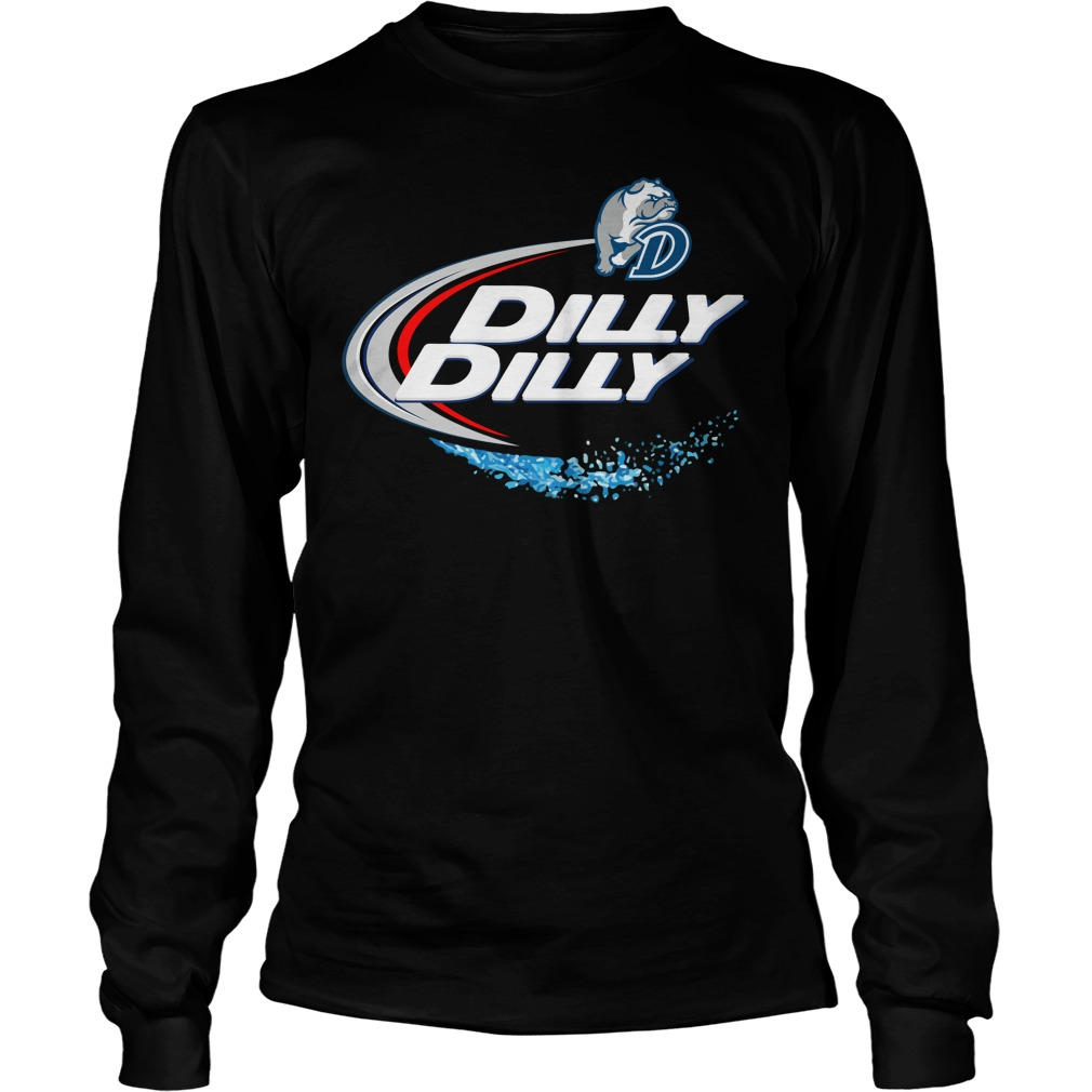 Drake Bulldogs Dilly Dilly Longsleeve Tee