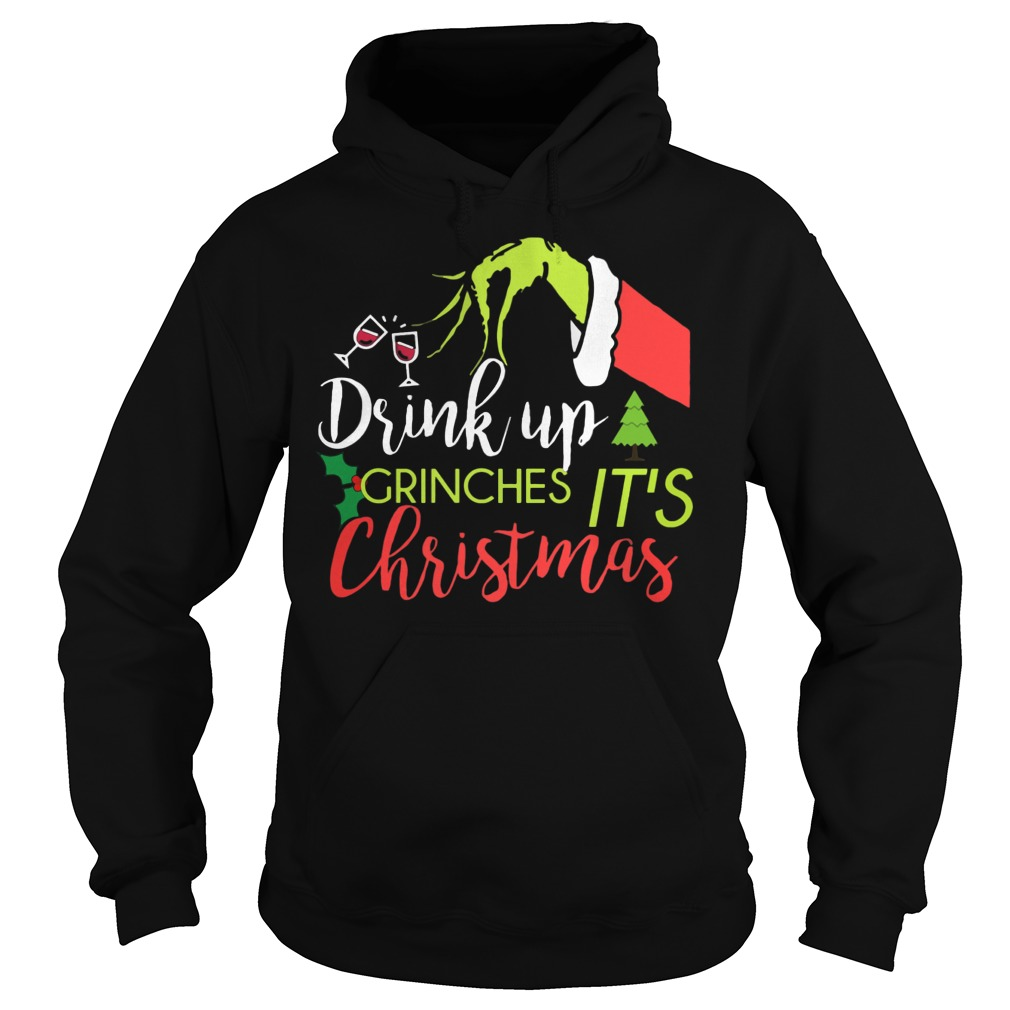 Drink Grinches Christmas Hoodie