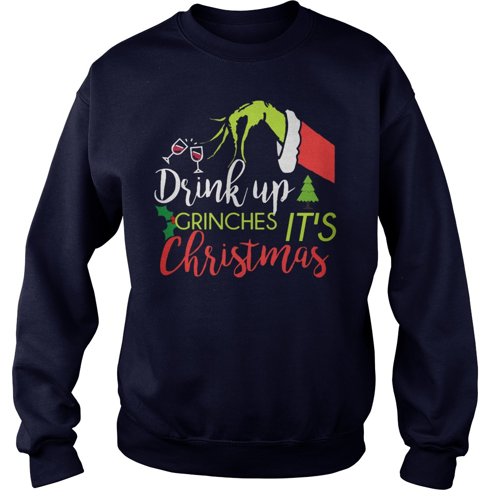 Drink Grinches Christmas Longsleeve Tee