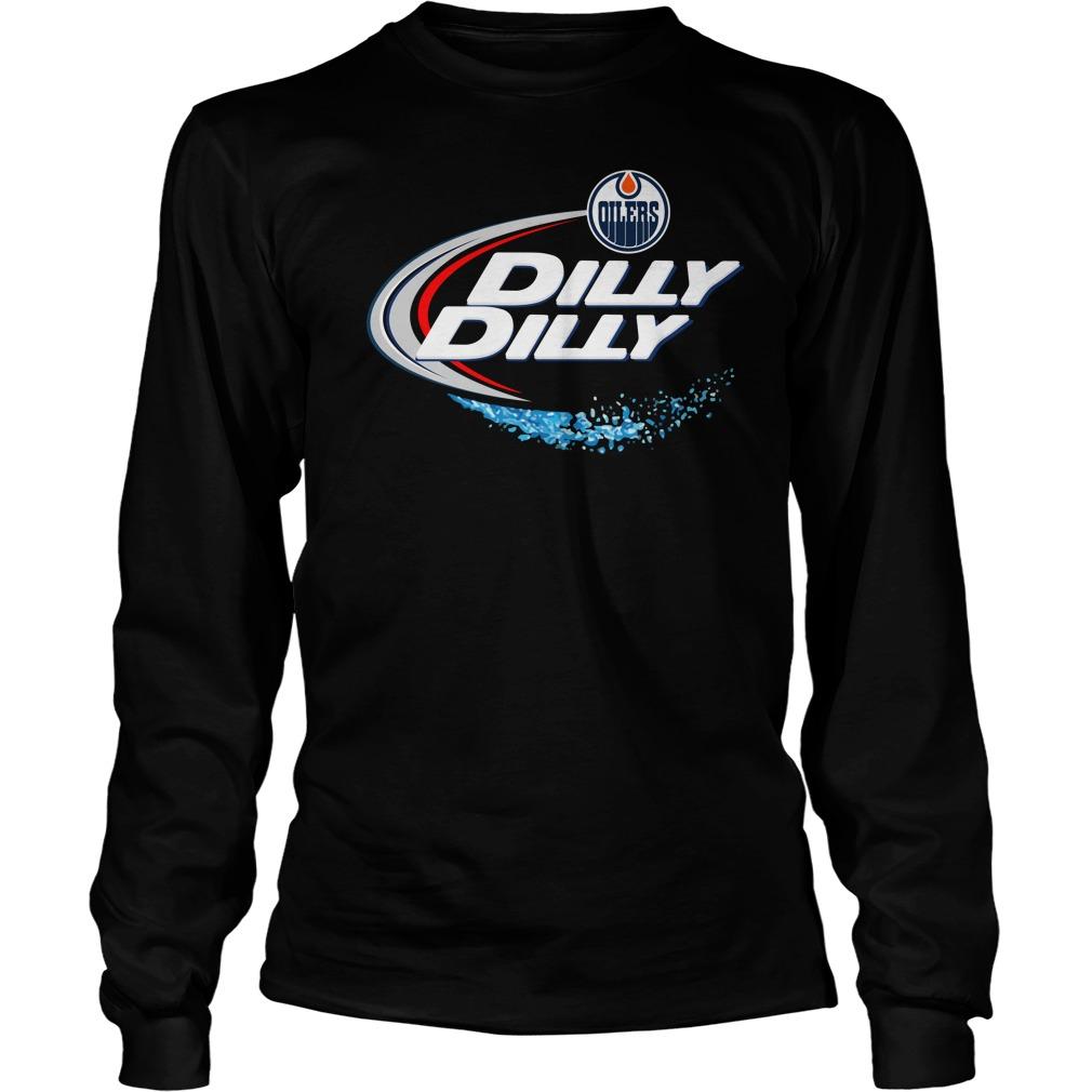 Edmonton Oilers Dilly Dilly Longsleeve Tee