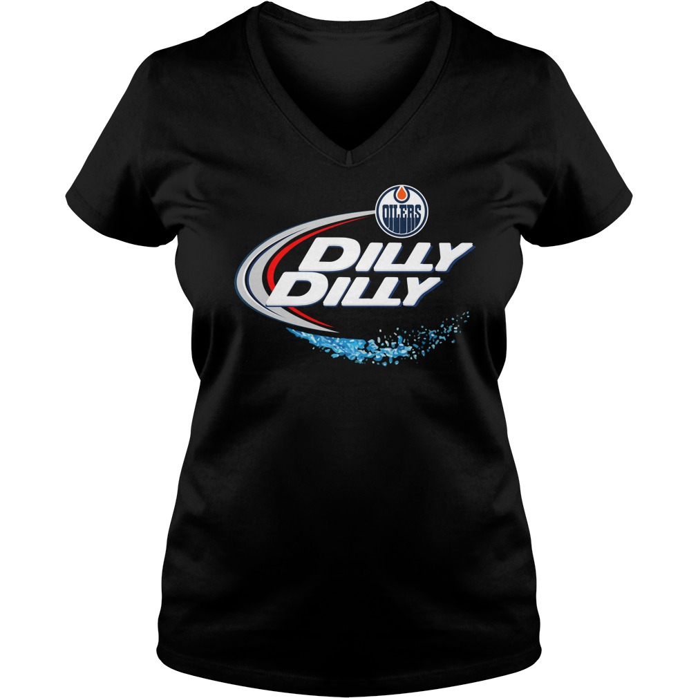 Edmonton Oilers Dilly Dilly V Neck