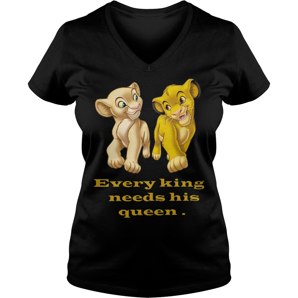 Every King Needs Queen Vneck