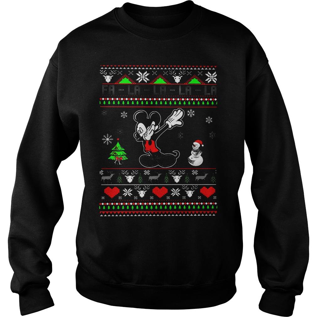 Fa La La La La Mickey Mouse Sweater