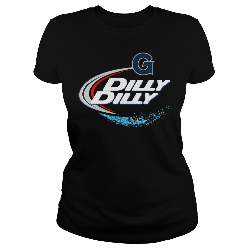Georgetown Hoyas Dilly Dilly Ladies Tee
