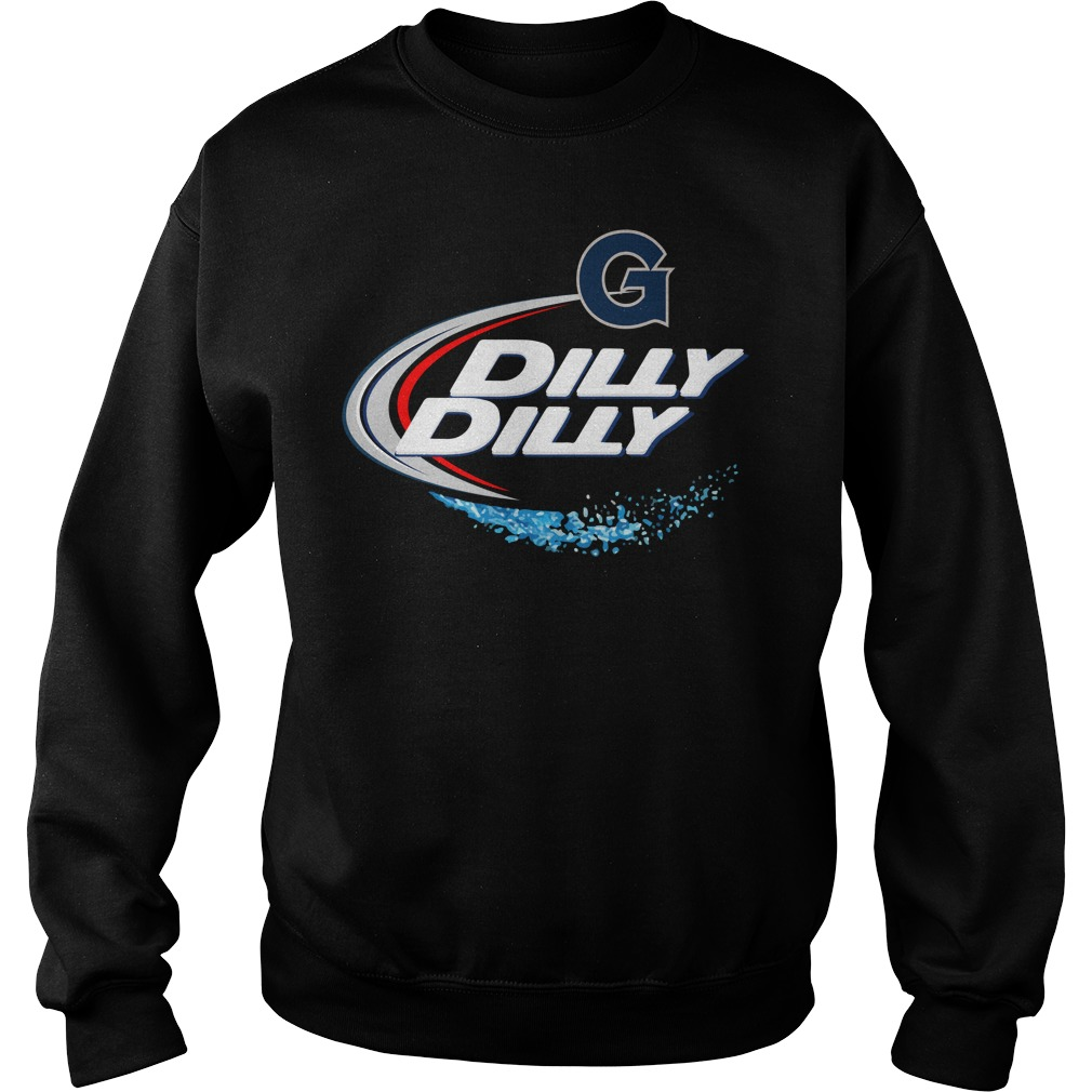 Georgetown Hoyas Dilly Dilly Sweat Shirt