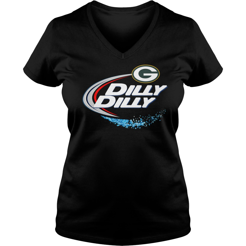Green Bay Packers Dilly Dilly V Neck