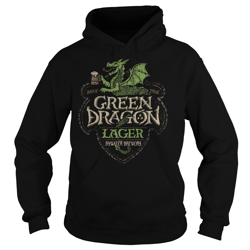 Green Dragon Lager Bywater Brewery Hoodie
