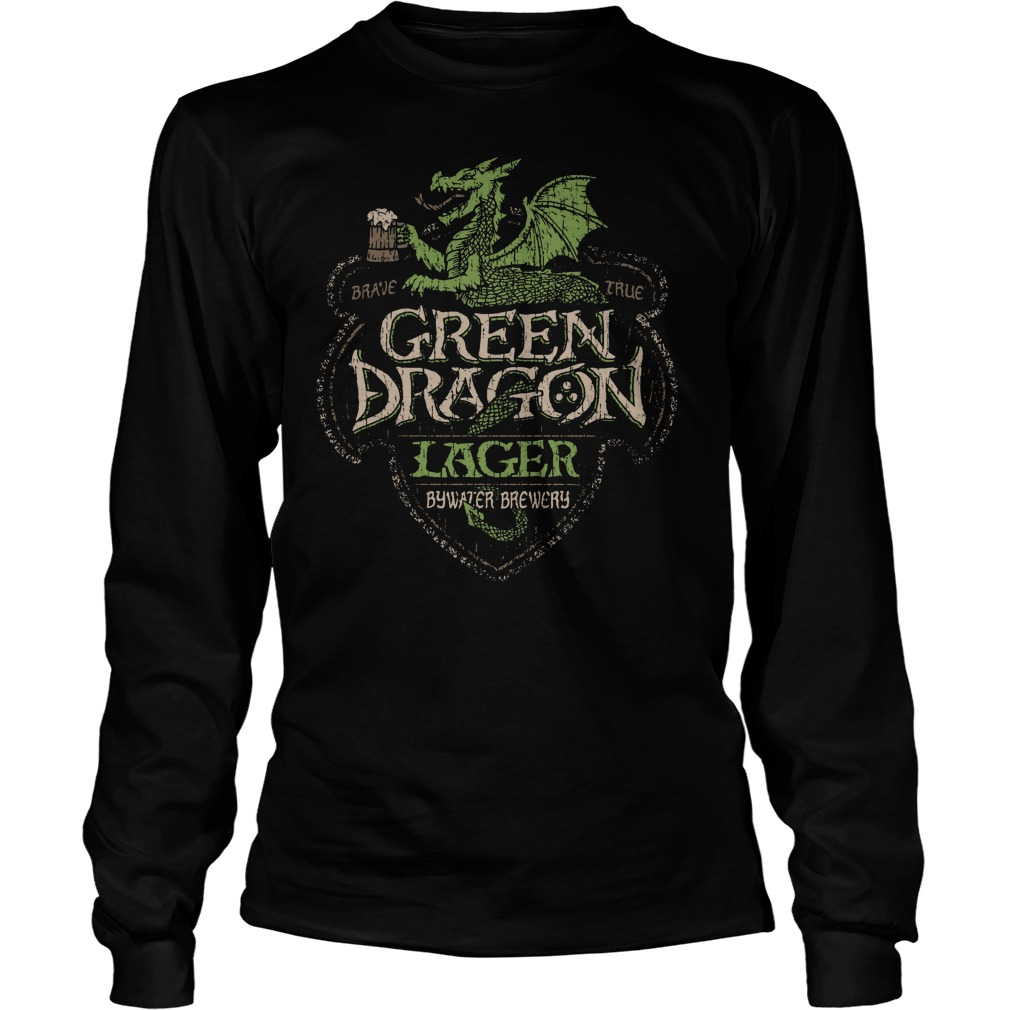 Green Dragon Lager Bywater Brewery Longsleeve Tee