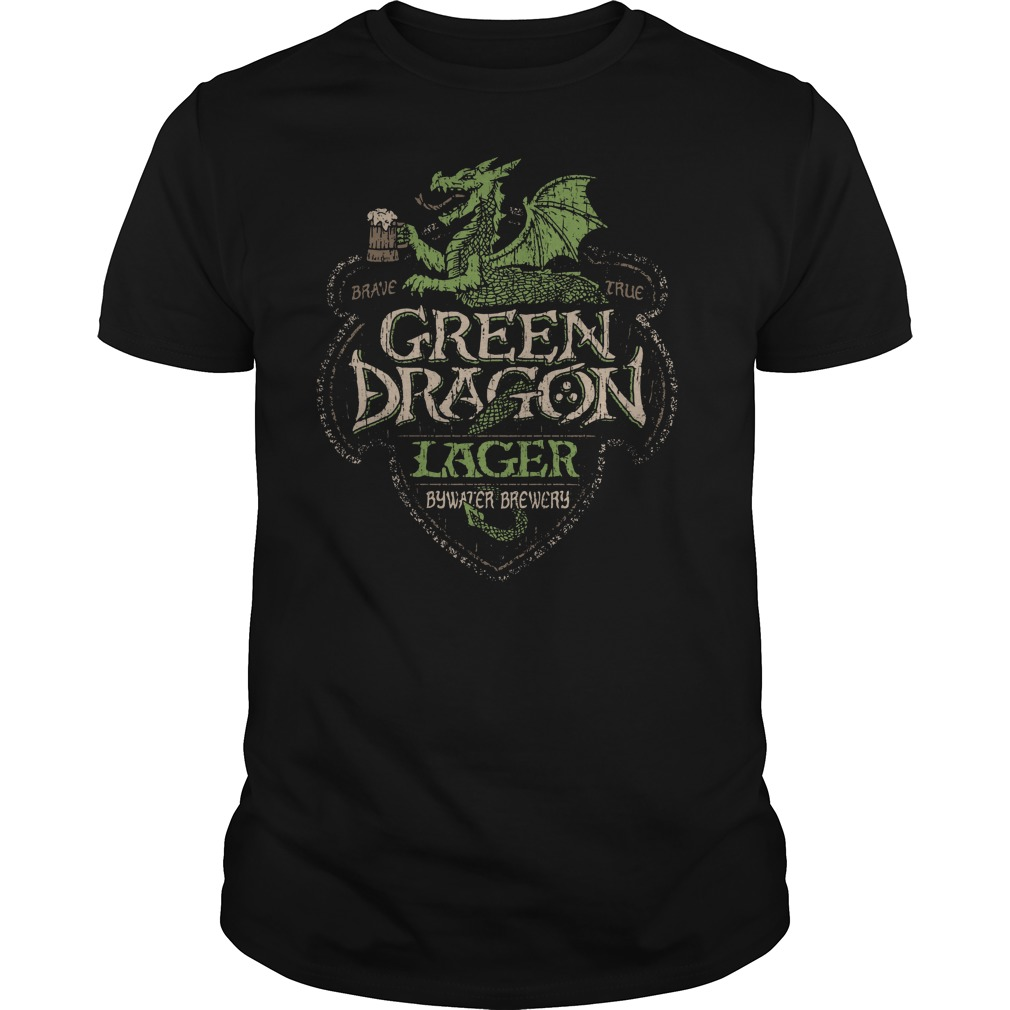 Green Dragon Lager Bywater Brewery Shirt