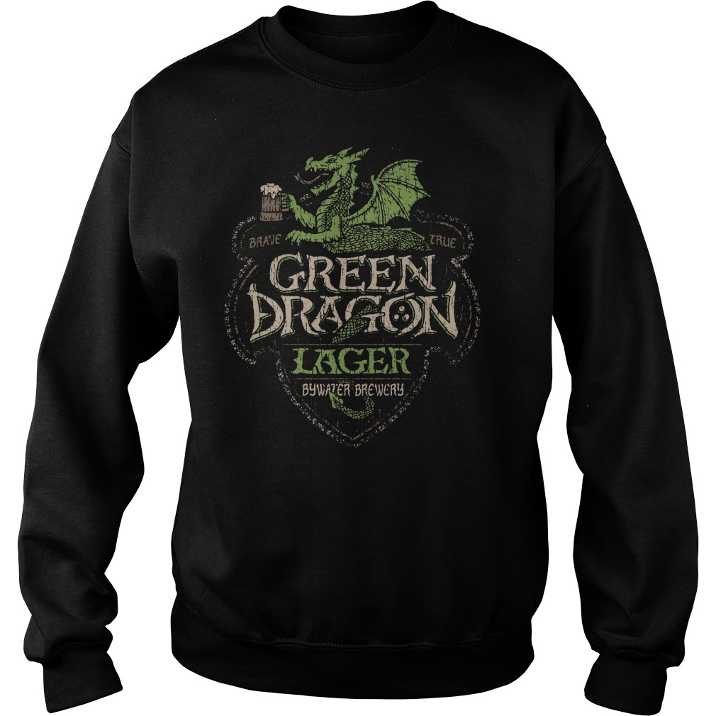 Green Dragon Lager Bywater Brewery Sweater