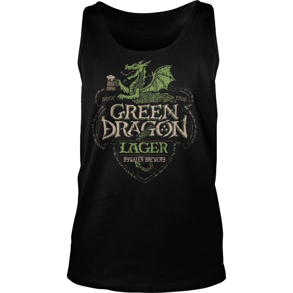 Green Dragon Lager Bywater Brewery Tank Top