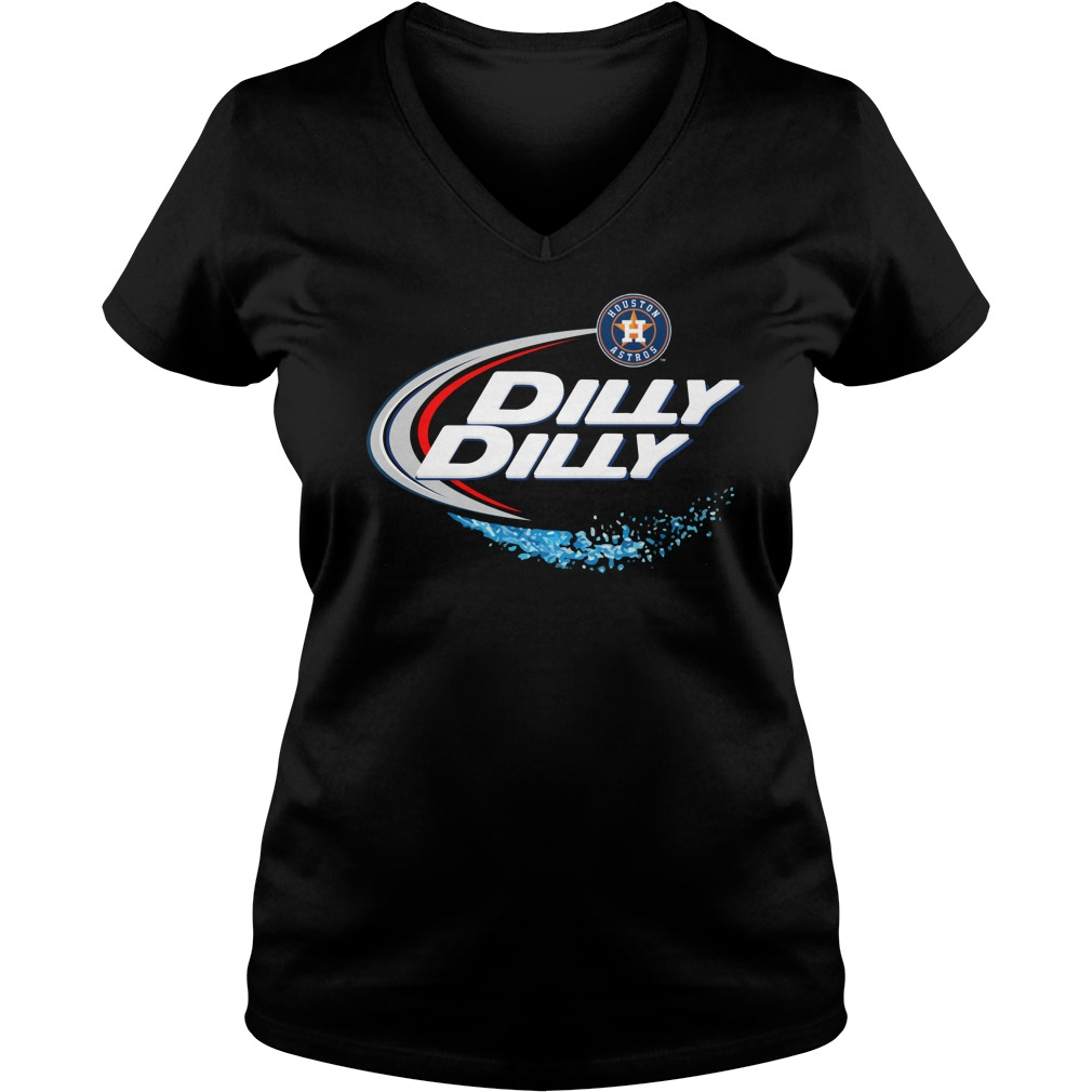 Houston Astros Dilly Dilly V Neck