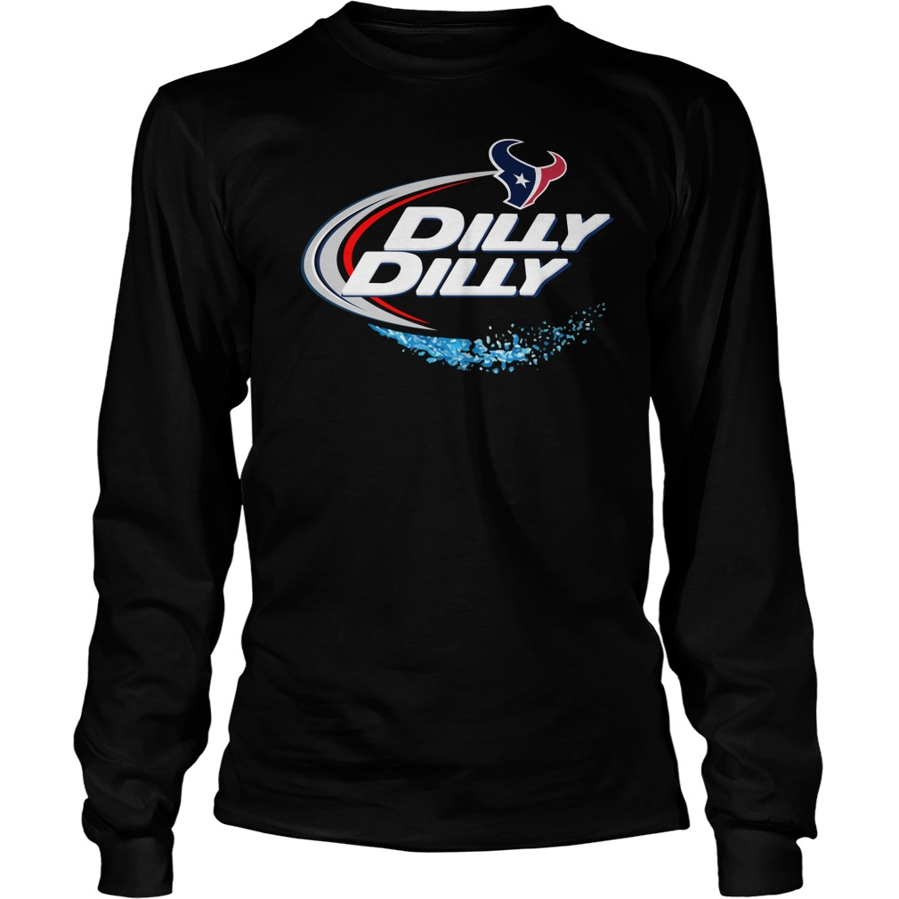 Houston Texans Dilly Dilly Longsleeve Tee