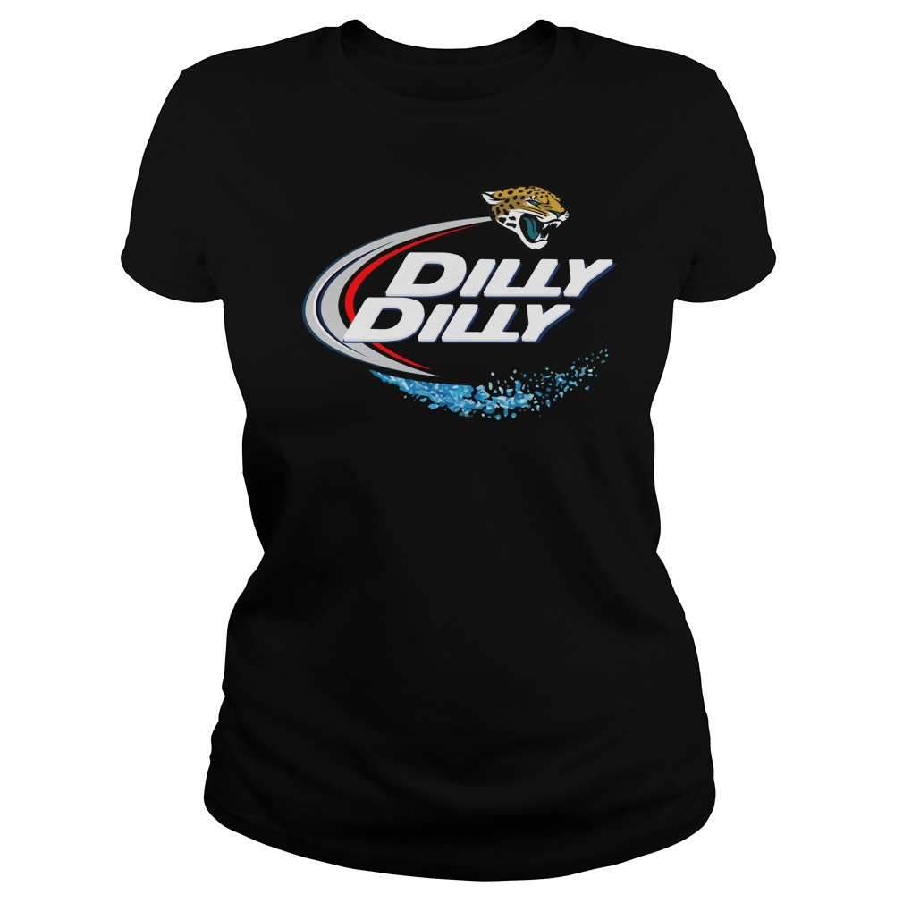 Jacksonville Jaguars Dilly Dilly Ladies Tee