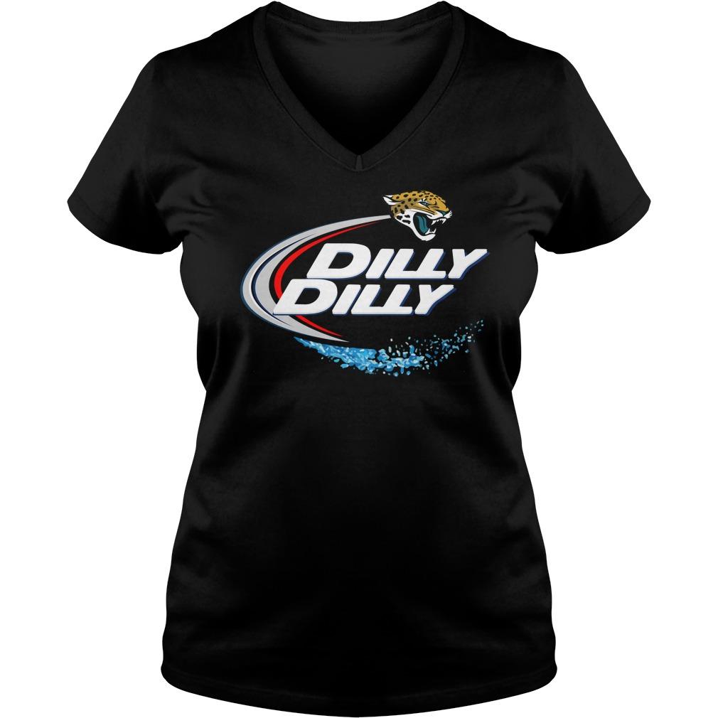 Jacksonville Jaguars Dilly Dilly V Neck