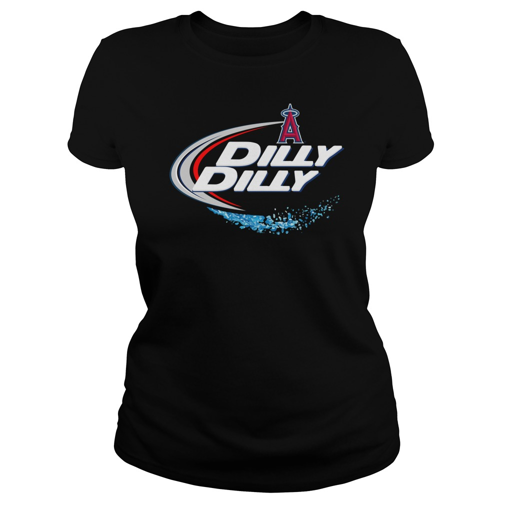 Los Angeles Angels Dilly Dilly Ladies Tee