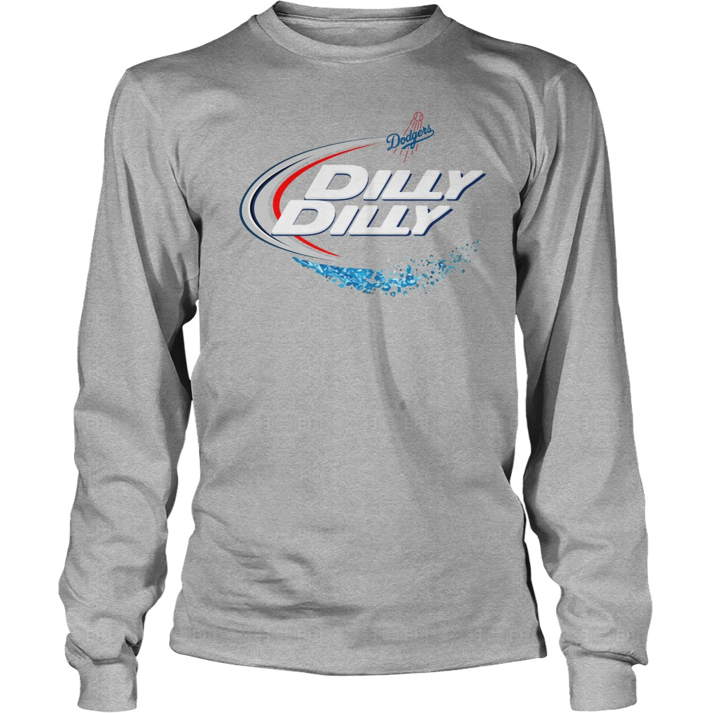 Los Angeles Dodgers Dilly Dilly Longsleeve Tee