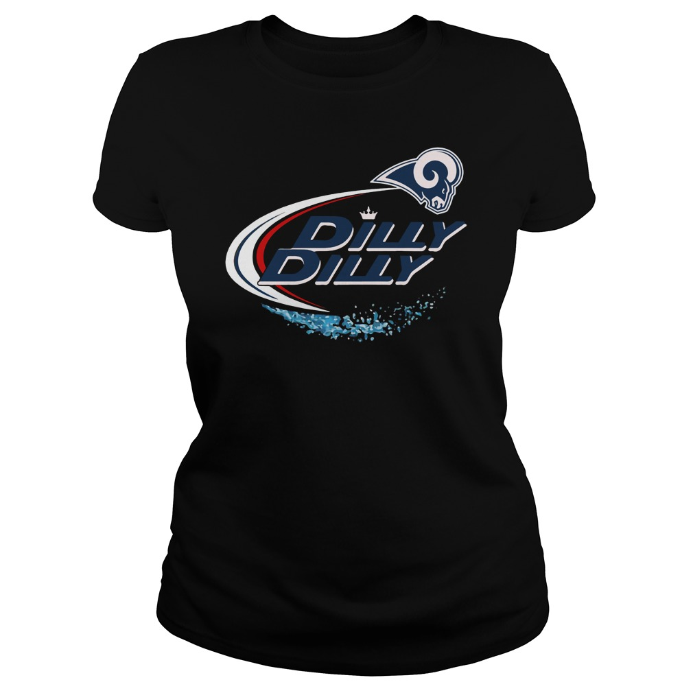 Los Angeles Rams Dilly Dilly Ladies Tee