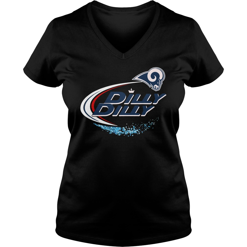 Los Angeles Rams Dilly Dilly V Neck