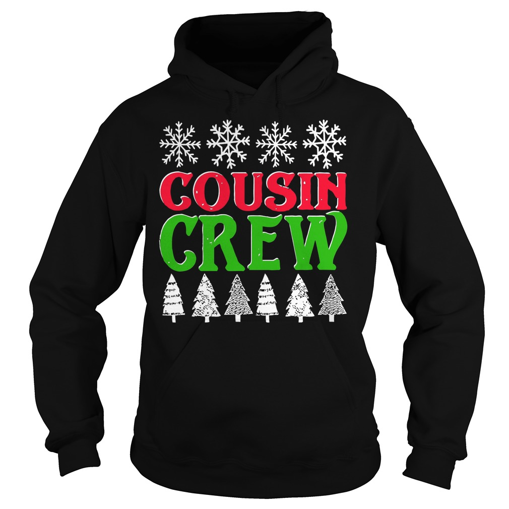 Matching Family Christmas Cousin Crew Hoodie
