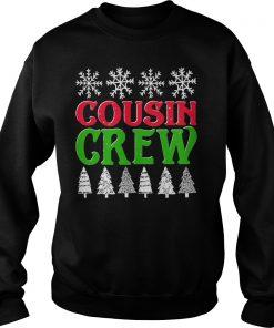 Matching Family Christmas Cousin Crew Sweat Shirt