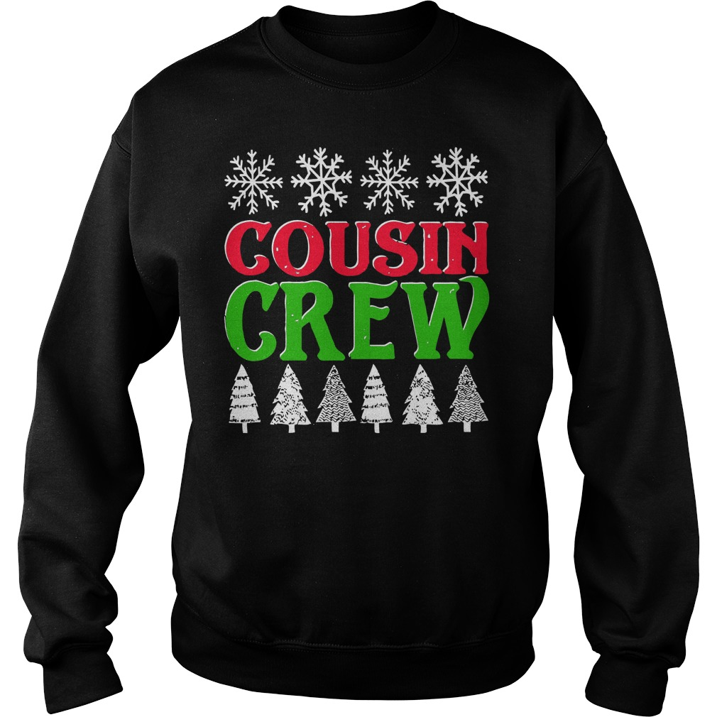 Matching Family Christmas Cousin Crew Sweat Shirt